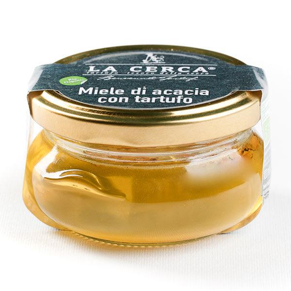 Miele di acacia con tartufo